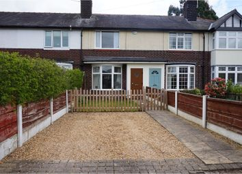 Thumbnail 2 bed terraced house for sale in Cumber Lane, Wilmslow
