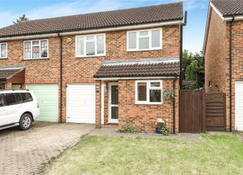 Thumbnail 3 bed semi-detached house for sale in Frays Close, West Drayton, Middlesex