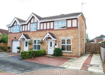Thumbnail 3 bed semi-detached house for sale in Pindars Way, Barlby, Selby, North Yorkshire