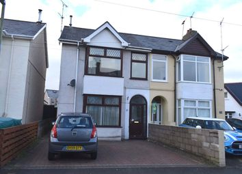 Thumbnail 3 bed semi-detached house for sale in Mackworth Road, Porthcawl
