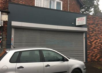 Thumbnail Retail premises to let in Reservoir Road, Birmingham