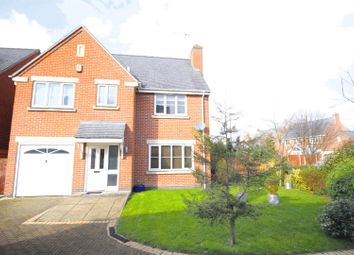 Thumbnail 4 bed detached house for sale in Oakley Grange, Burton-On-Trent