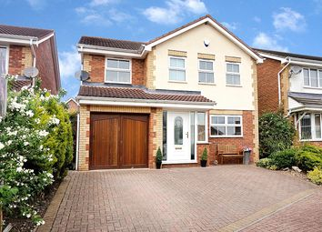 Thumbnail 4 bed detached house for sale in Windsor Close, Newton Aycliffe