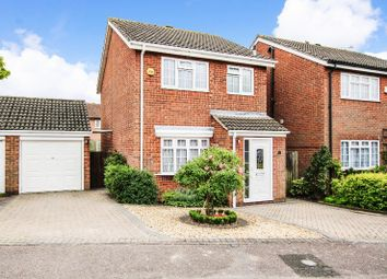 Thumbnail 3 bed detached house for sale in Brampton Close, Bedford