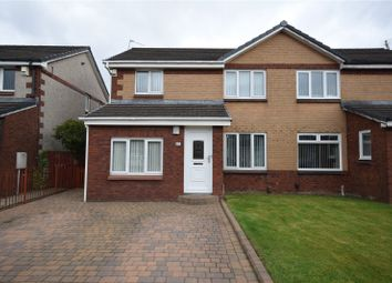 Thumbnail 4 bed semi-detached house for sale in Peterson Drive, Yoker, Glasgow