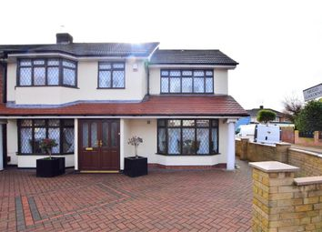 Thumbnail 4 bed semi-detached house for sale in Simpson Road, Rainham, Essex