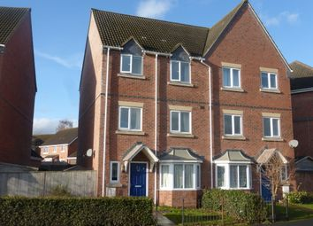 Thumbnail 4 bed town house for sale in Staddlestone Circle, Hereford