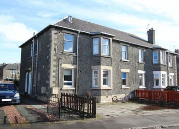 Thumbnail 3 bed flat for sale in Smollet Road, Dumbarton