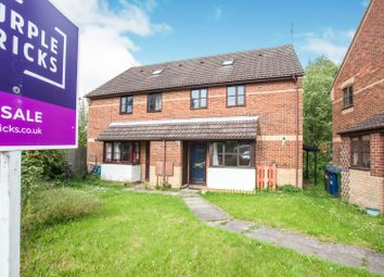 Thumbnail 1 bedroom end terrace house for sale in Hopkins Close, Cambridge