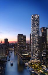 Thumbnail 3 bed flat for sale in 4804 One Park Drive, Canary Wharf, London