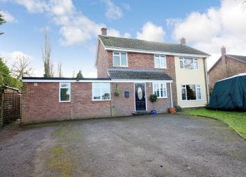 Thumbnail 4 bed detached house for sale in High Green, Great Moulton, Norwich