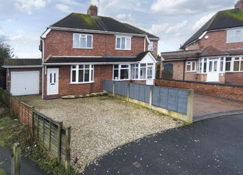 Thumbnail 2 bedroom semi-detached house for sale in Homefield Road, Codsall, Wolverhampton