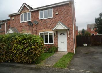 Thumbnail 2 bed semi-detached house to rent in Grange Close, Maple Park, Leicester
