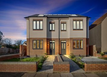 Thumbnail 3 bed semi-detached house for sale in Drapers Road, Enfield