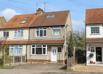 Thumbnail 3 bed semi-detached house for sale in Station Road, Smallford, St.Albans
