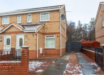 Thumbnail 2 bed semi-detached house for sale in Orchard Grove, Coatbridge