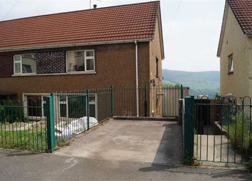 Thumbnail 4 bed semi-detached house for sale in Brynheulog, Mountain Ash