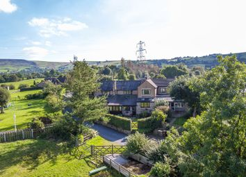 Thumbnail 4 bed farmhouse for sale in Woodseats Lane, Charlesworth, Glossop