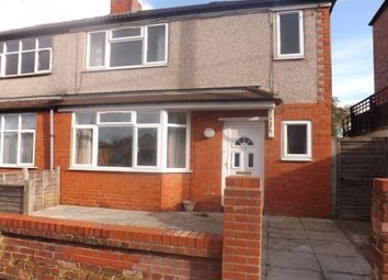 Thumbnail 3 bed property to rent in Moor Lane, Holywell