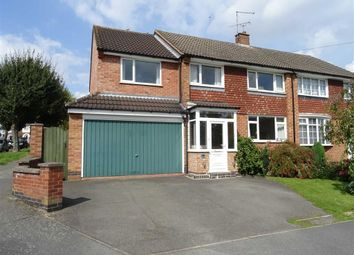 Thumbnail 5 bedroom semi-detached house for sale in Princess Road, Hinckley