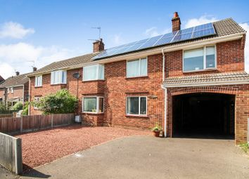 Thumbnail 4 bedroom semi-detached house for sale in Birkbeck Way, Thorpe St. Andrew, Norwich