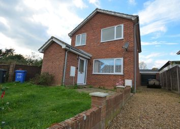 Thumbnail 3 bed detached house for sale in Peregrine Way, Kessingland, Lowestoft