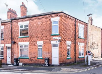 Thumbnail 3 bed flat for sale in Mantle Road, Leicester