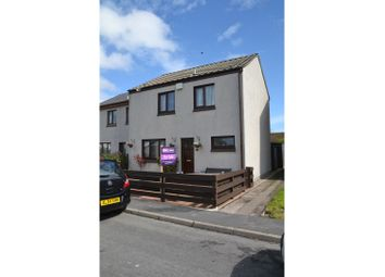 Thumbnail 3 bed terraced house for sale in Muirfield Drive, Brora