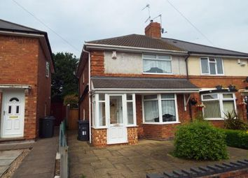Thumbnail 3 bedroom semi-detached house for sale in Caversham Road, Birmingham, West Midlands