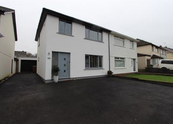 Thumbnail 3 bed semi-detached house for sale in Porset Drive, Caerphilly