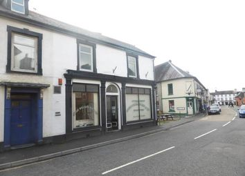 Thumbnail 1 bedroom property to rent in High Street, Llandovery, Carmarthenshire