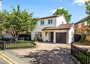 Thumbnail 3 bed detached house for sale in Weybridge, Surrey