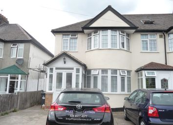 Thumbnail 3 bed semi-detached house to rent in Elmer Gardens, Isleworth