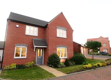 Thumbnail 4 bed detached house for sale in Beeby Road, Scraptoft