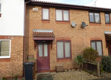 Thumbnail 2 bed terraced house for sale in Woodpecker Court, Gunthorpe, Peterborough