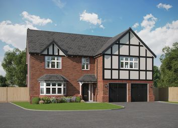 Thumbnail 5 bed detached house for sale in Wildings Croft, Fountain Lane, Davenham, Northwich