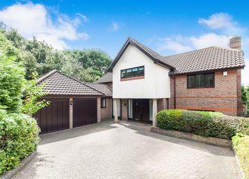 Thumbnail 4 bedroom detached house for sale in Reynards Copse, Highwoods, Colchester