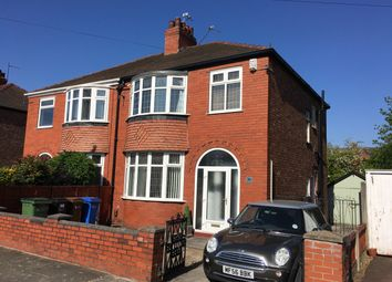 Thumbnail 3 bed semi-detached house to rent in Bonis Crescent, Stockport