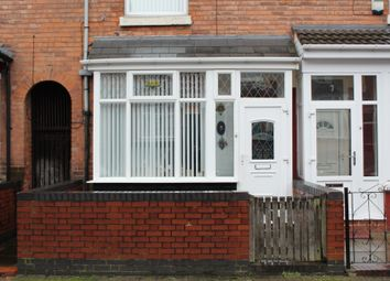 Thumbnail 3 bed terraced house for sale in Brunswick Road, Handsworth, Birmingham