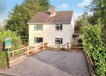 Thumbnail 2 bed semi-detached house for sale in Woodbury Lane, Axminster, Devon