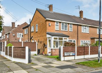 Thumbnail 3 bed end terrace house for sale in Bebbington Close, Sale, Greater Manchester
