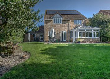 Thumbnail 4 bed detached house for sale in Glebe Way, Haddenham, Ely