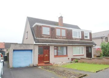 Thumbnail 3 bed semi-detached house for sale in Logansbarn Crescent, Dumfries