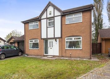 Thumbnail 4 bedroom detached house for sale in Broomehouse Avenue, Irlam, Manchester, Greater Manchester