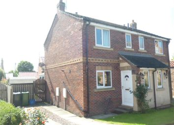 Thumbnail 2 bed semi-detached house to rent in Dovecote Mews, Topcliffe, Thirsk