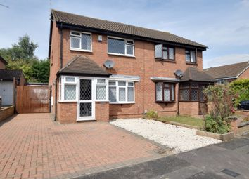 Thumbnail 3 bedroom semi-detached house for sale in Leygreen Close, Luton, Bedfordshire