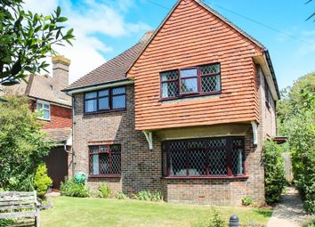 Thumbnail 4 bed detached house for sale in Southdown Road, Seaford