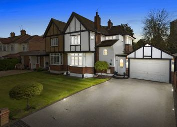 Thumbnail 3 bedroom semi-detached house for sale in Northumberland Avenue, Hornchurch