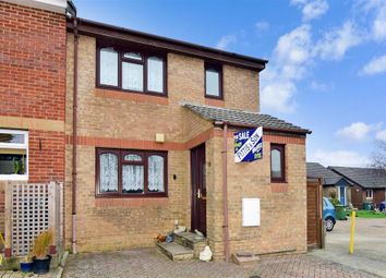 Thumbnail 3 bed end terrace house for sale in Meadow View Close, Ryde, Isle Of Wight