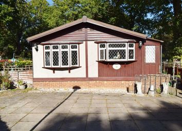 Thumbnail 2 bed mobile/park home for sale in Carter Avenue, London Road, West Kingsdown, Sevenoaks